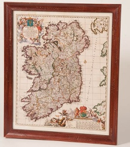 Ireland as depicted by Visscher in 1700. 1700!