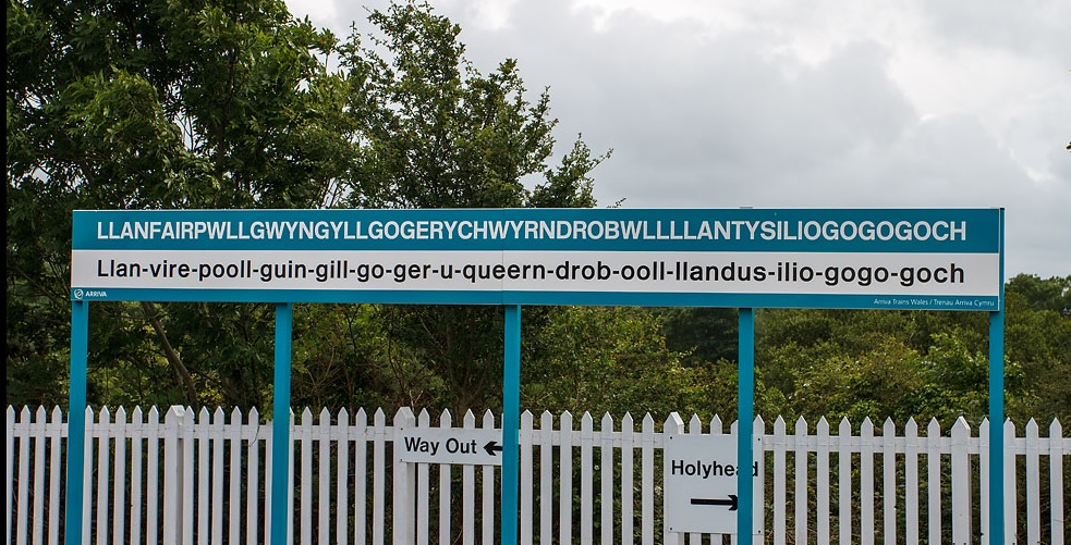 Welsh Town With The Long Name Ever Irish Gifts