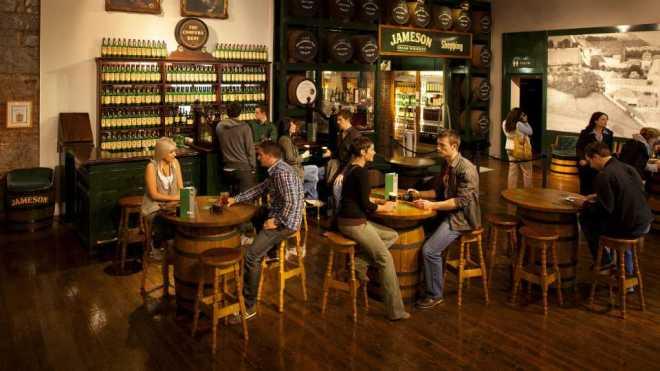 The Jameson Experience. Midleton Cork